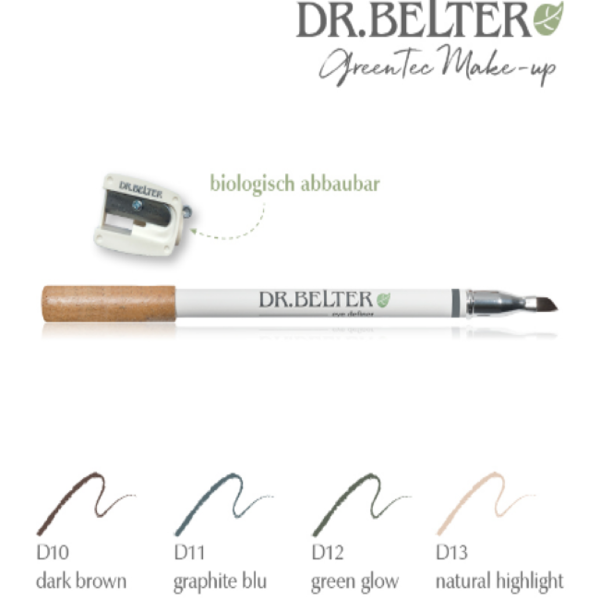 eye definer - szemceruza D10 dark brown